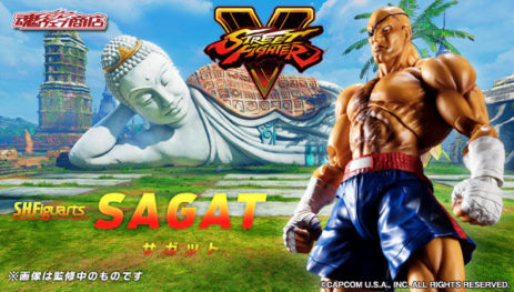 Bandai S.H. Figuarts Street Fighter Sagat Promo Images and Info