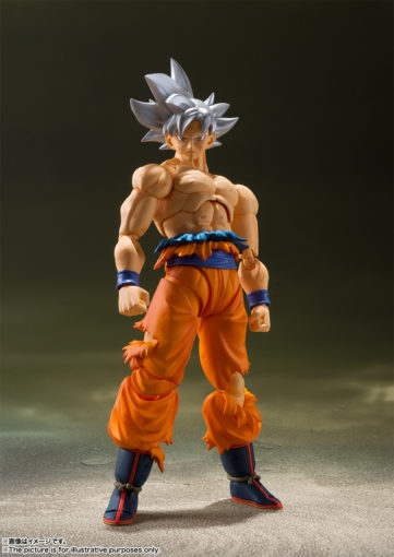 S.H. Figuarts Ultra Instinct Goku info and promo images