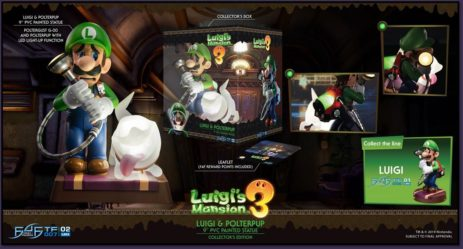 Take a look at FIRST4FIGURES Luigi's Mansion Statues