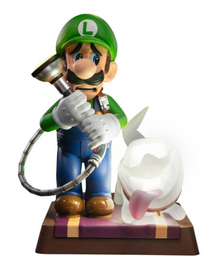 Luigi's Mansion 3 PVC Statue Luigi & Polterpup Collector's Edition