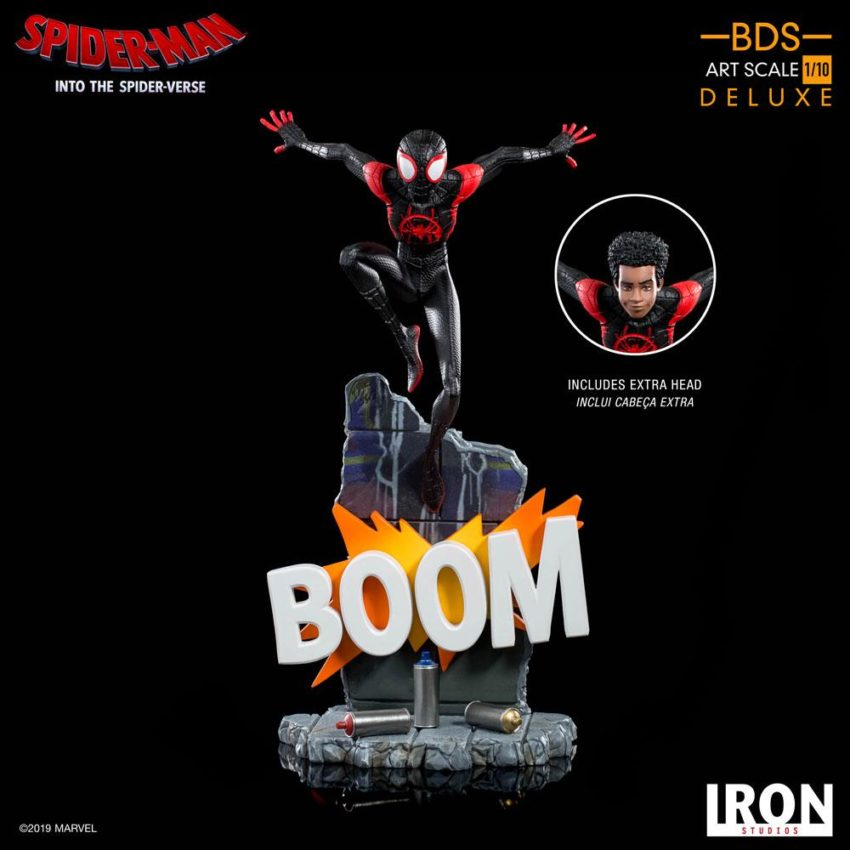 Spider-Man: Into the Spider-Verse BDS Art Scale Deluxe Statue 1/10 Miles Morales