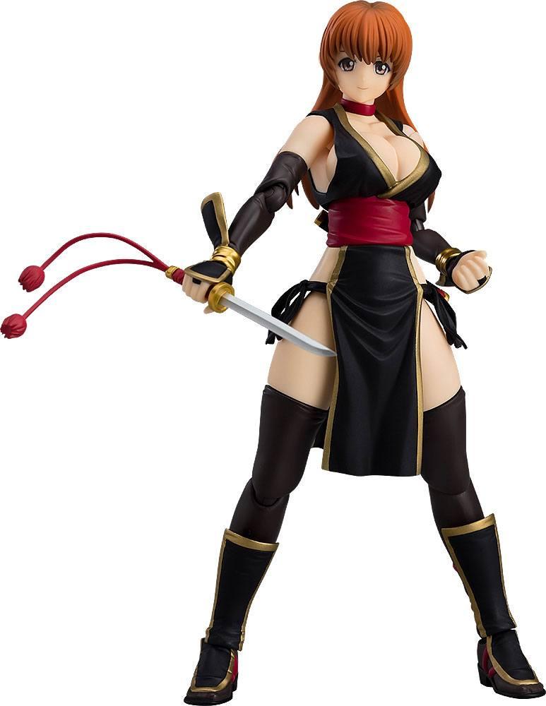 Dead or Alive Figma Action Figure Kasumi C2 Black Version