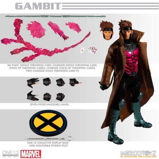 X-Men Gambit One:12 Collective Action Figure