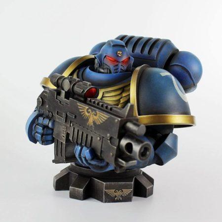 Warhammer 40K Bust Ultra Marine Primaris