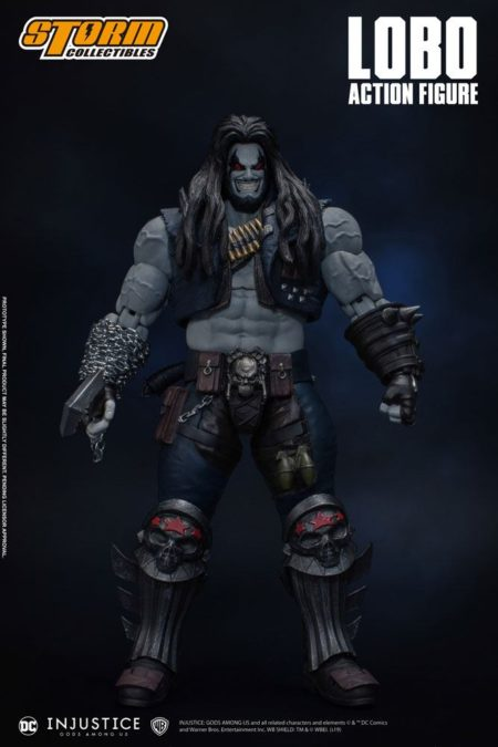 Injustice: Gods Among Us Action Figure 1/12 Lobo