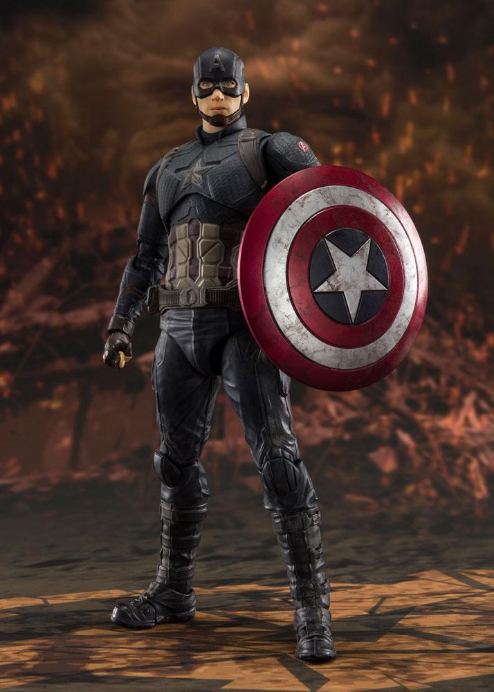 Avengers: Endgame S.H. Figuarts Action Figure Captain America (Final Battle)
