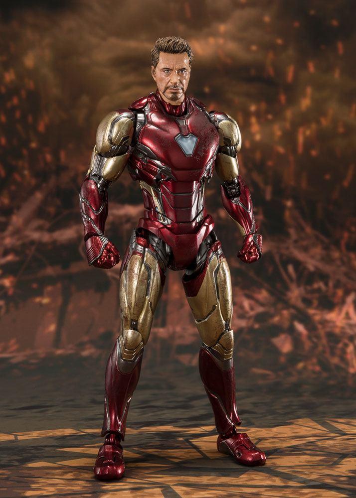 Avengers: Endgame S.H. Figuarts Action Figure Iron Man Mk 85 (Final Battle)