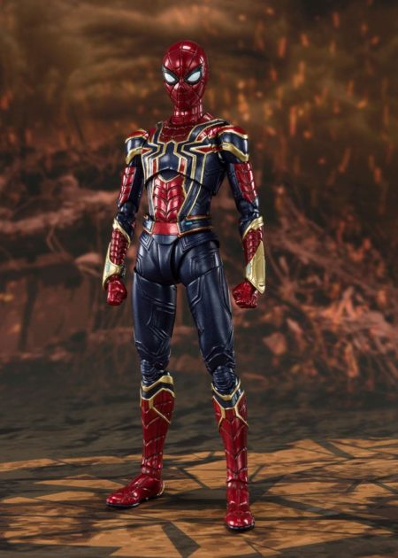Avengers: Endgame S.H. Figuarts Action Figure Iron Spider (Final Battle)