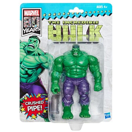 Marvel Legends 80th Anniversary Action Figure Retro Hulk SDCC 2019 Exclusive