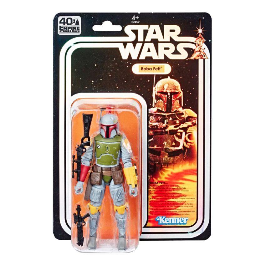 Star Wars Boba Fett SDCC 2019 40th Anniversary Exclusive Black Series Figure