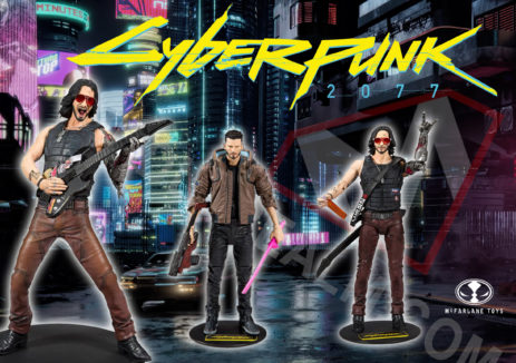 Cyberpunk 2077 McFarlane Toys Action Figures Promo Images and Info