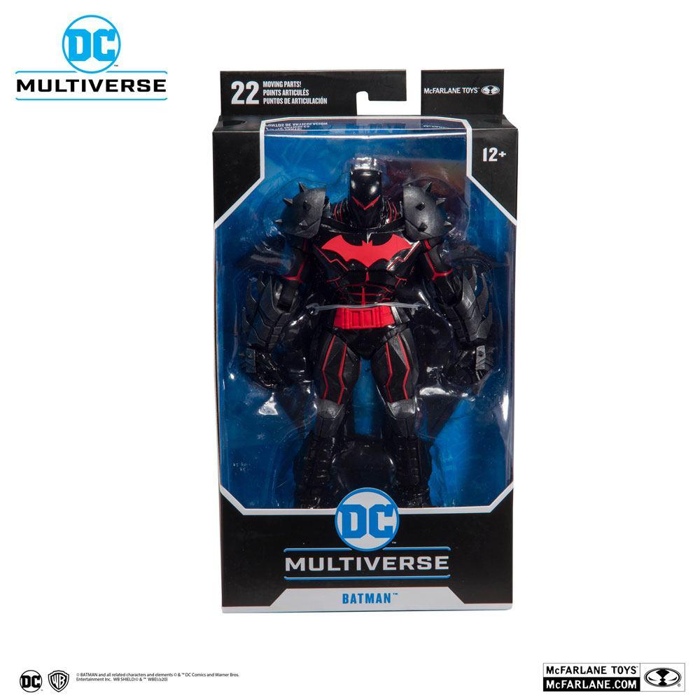Batman /& Robin Action Figure Batman 18 cm McFarlane Toys Hellbat Suit