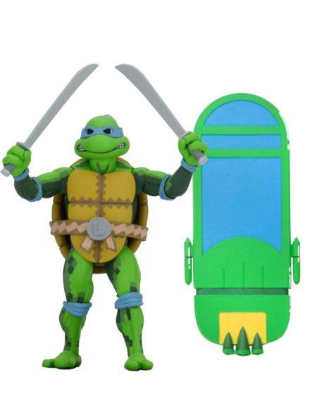 Turtles in time Leonardo NECA