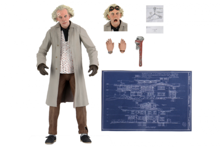 Back to the Future Action Figure Ultimate Doc Brown