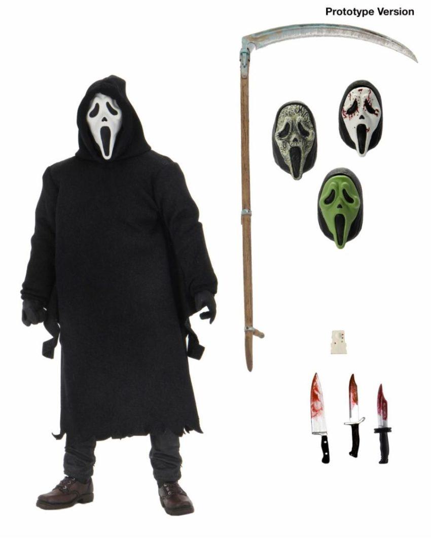 Scream Action Figure Ultimate Ghostface