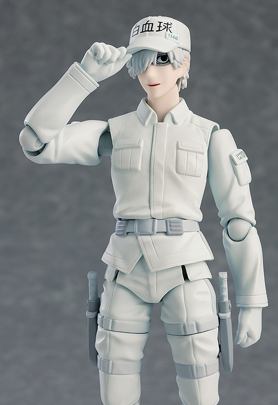 Cells at Work! figma Action Figure White Blood Cell Neutrophil