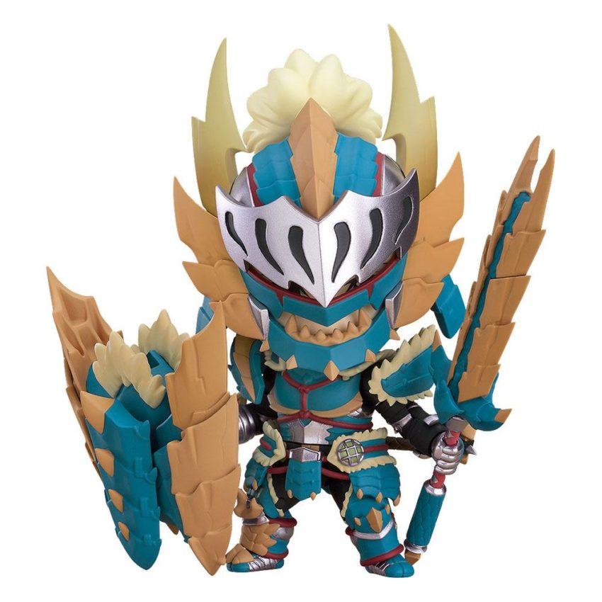 Monster Hunter World Iceborne Nendoroid Action Figure Hunter Male Zinogre Alpha Armor