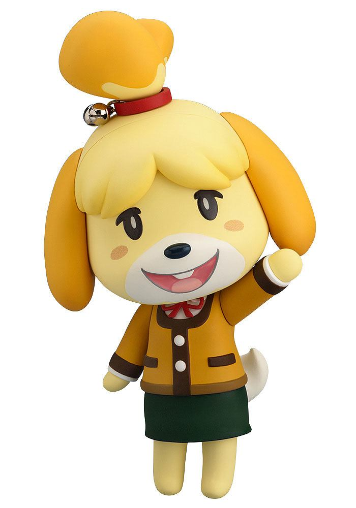 Animal Crossing New Leaf Nendoroid Action Figure Shizue Isabelle Winter Ver.