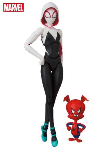 MAFEX Spider-Gwen and Ham