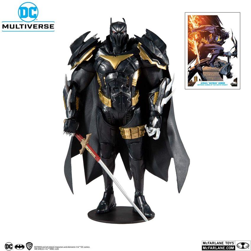 DC Multiverse Wave 3 White Knight Azbat 7-Inch Action Figure