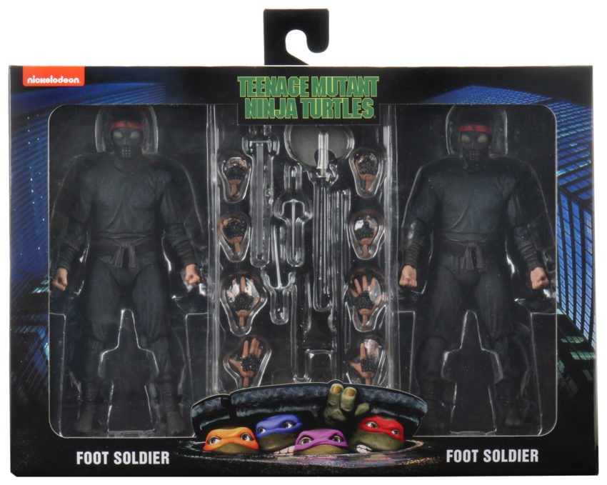 NECA foot soldier 2 pack