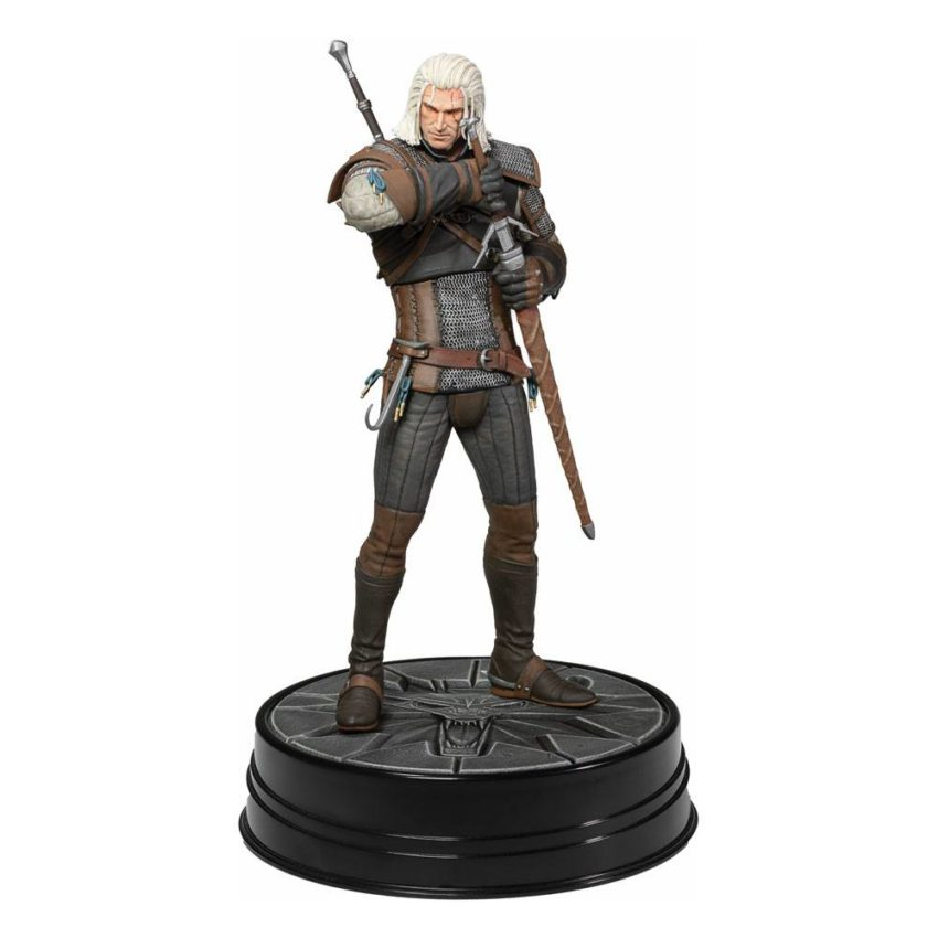 Witcher 3 Wild Hunt PVC Statue Heart of Stone Geralt Deluxe