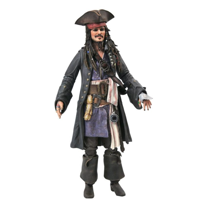Pirates of the Caribbean Deluxe Action Figure Jack Sparrow