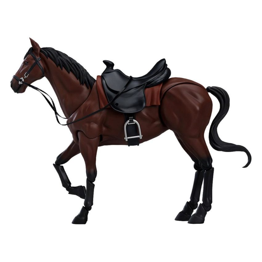Original Character Figma Action Figure Horse ver. 2 (Chestnut)