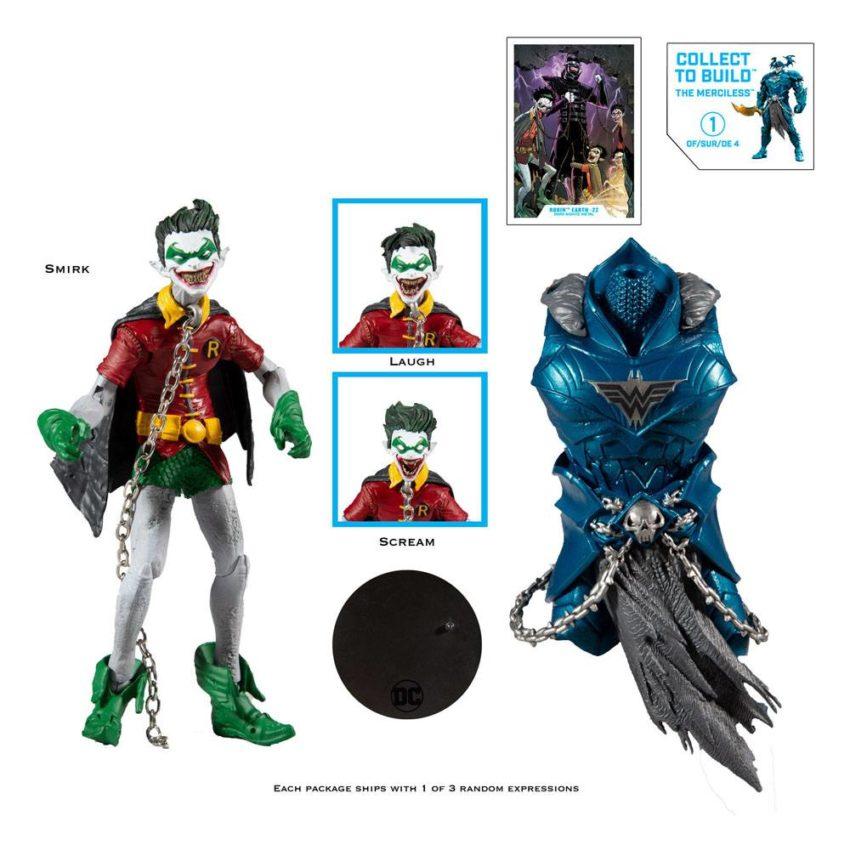DC Multiverse Build A Action Figure Robin Earth (Dark Nights: Metal)