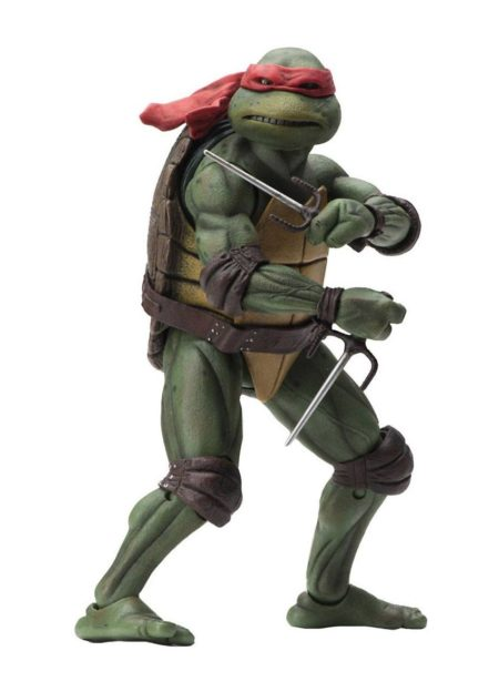 TMNT 1990 Movie Raphael NECA