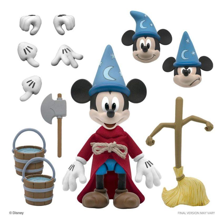Disney Ultimates Action Figure Sorcerer's Apprentice Mickey Mouse