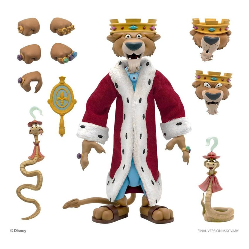 Disney Ultimates Action Figure Prince John