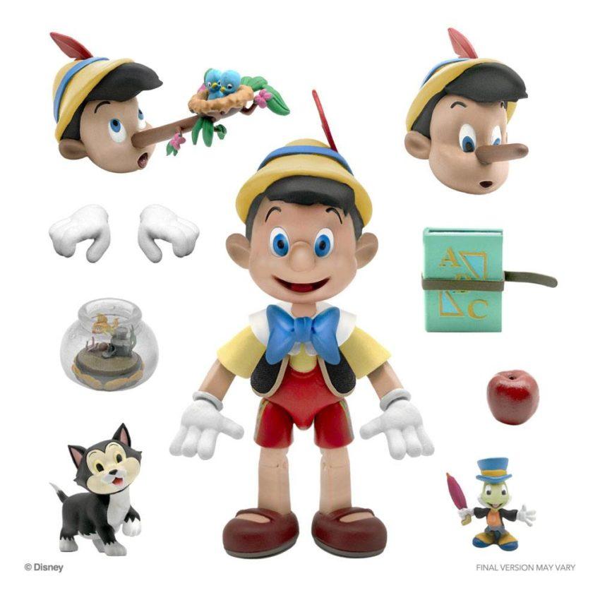 Disney Ultimates Action Figure Pinocchio