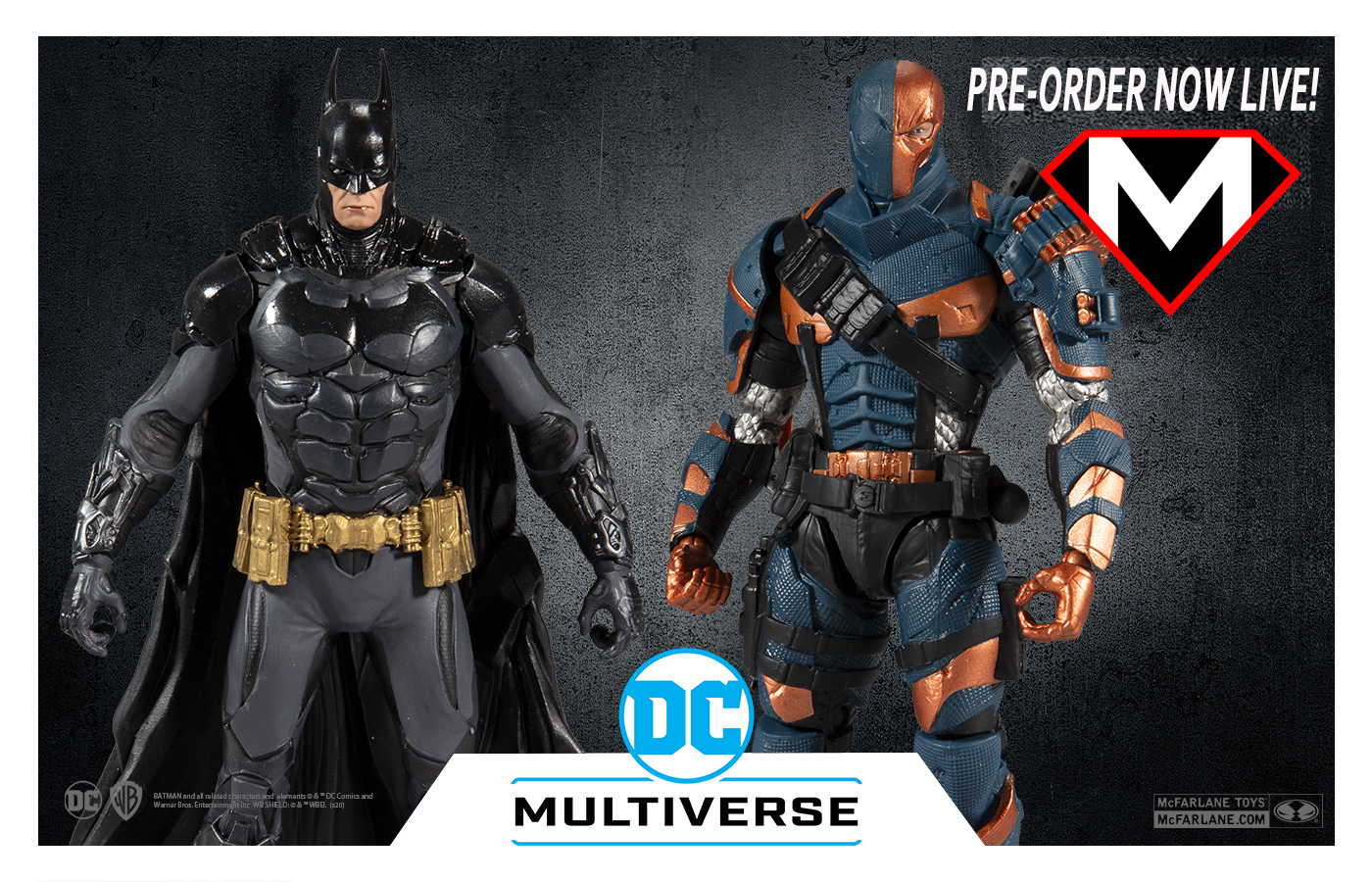McFarlane Toys Deathstroke and Batman