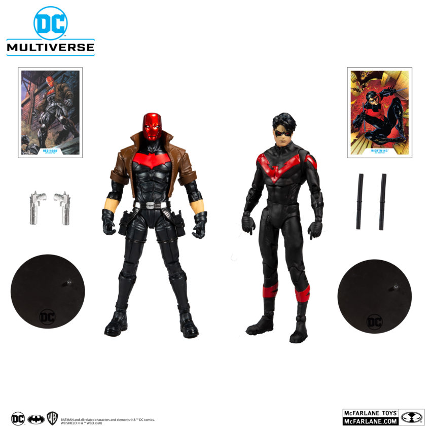 McFarlane Toys NIGHTWING AND RED HOOD MULTIPACK