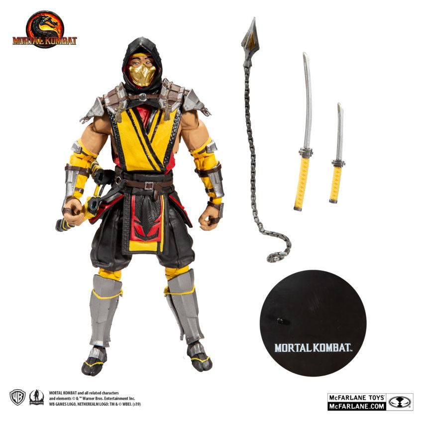 Mortal Kombat 11 Action Figure Scorpion