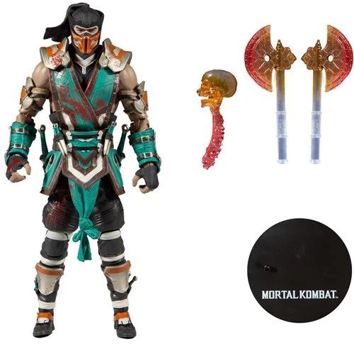 Mortal Kombat Series 4 Bloody Sub-Zero 7-Inch Action Figure