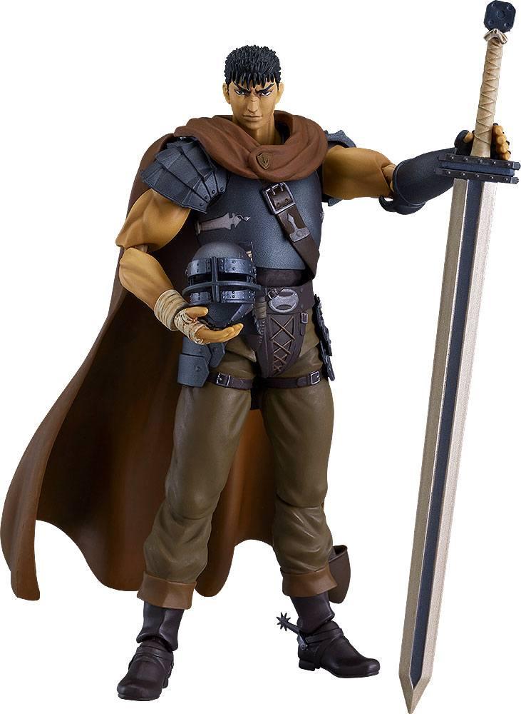 Berserk Movie Figma Action Figure Guts Band of the Hawk Ver. Repaint Edition