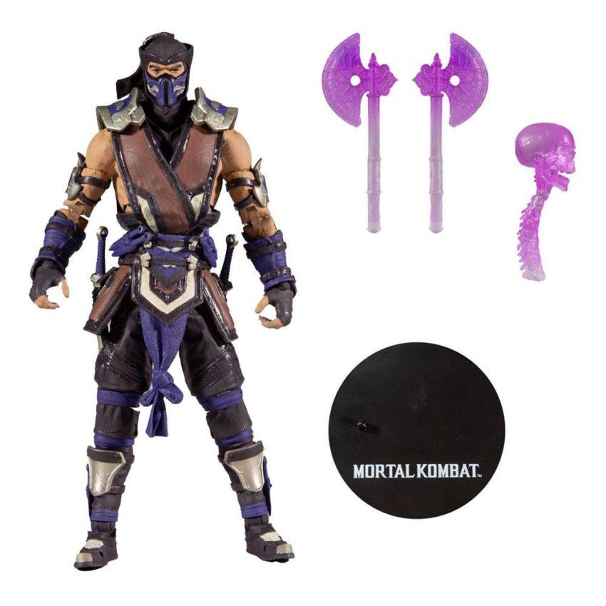 Mortal Kombat Action Figure Sub Zero (Winter Purple Variant)