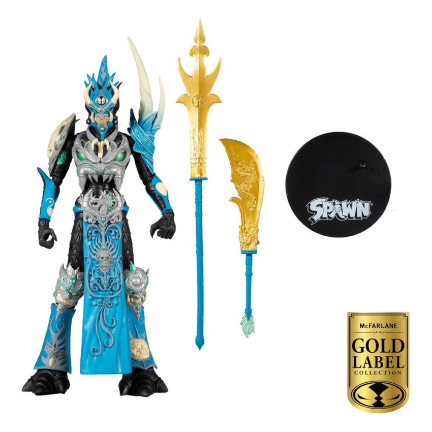 Spawn Action Figure Madarin Spawn Gold Label Series
