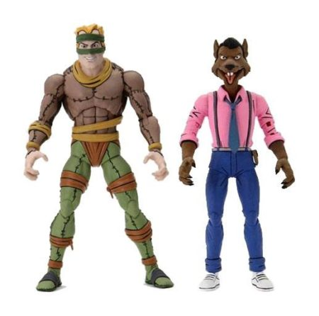 TMNT CARTOON KING RAT AND VERNON 2-PACK 7 INCH SCALE ACTION FIGURES TEENAGE MUTANT NINJA TURTLES