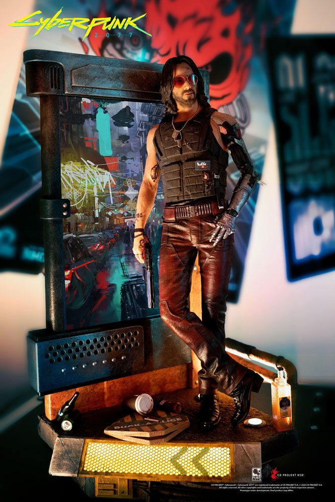 CYBERPUNK 2077 JOHNNY SILVERHAND 1/4 SCALE STATUE PURE ARTS