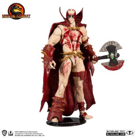 Mortal Kombat 11 Action Figure Spawn Bloody