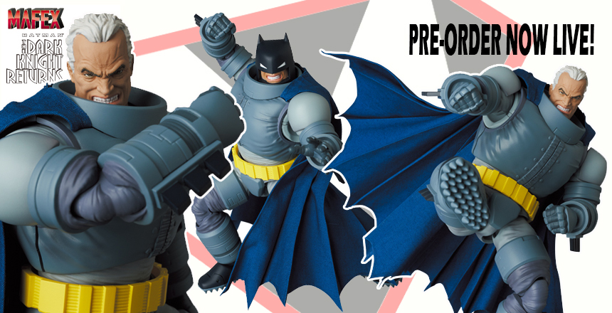 armored batman mafex