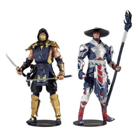 Mortal Kombat Scorpion and Raiden 7-Inch Action Figure 2-Pack