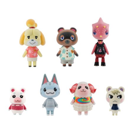 Animal Crossing New Horizons Flocked Dolls