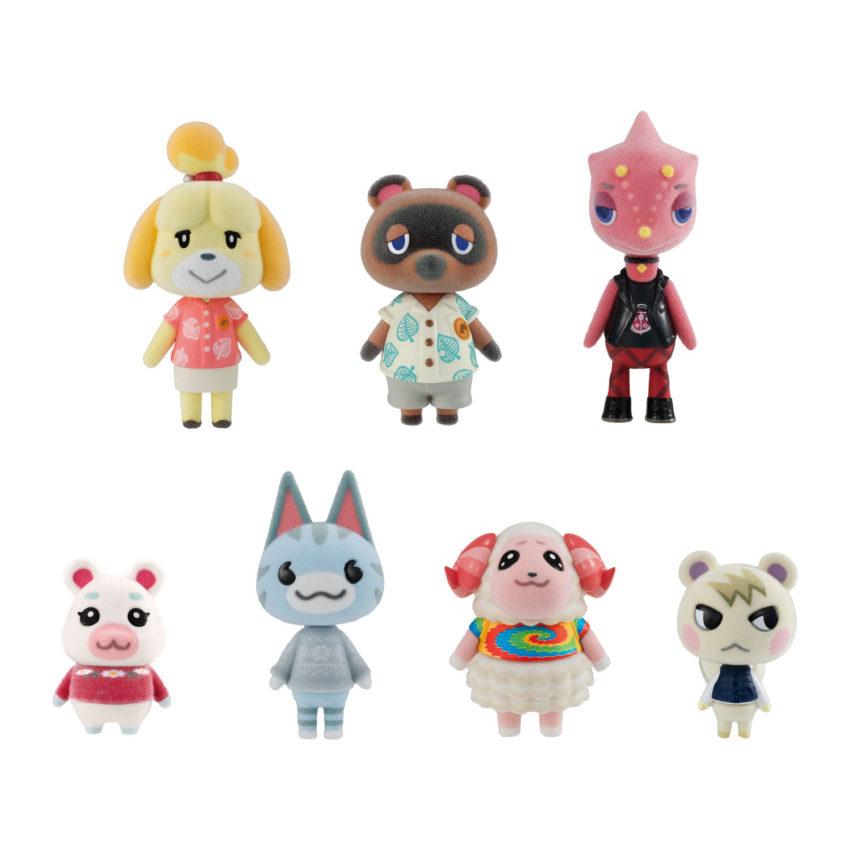 Animal Crossing New Horizons Flocked Dolls
