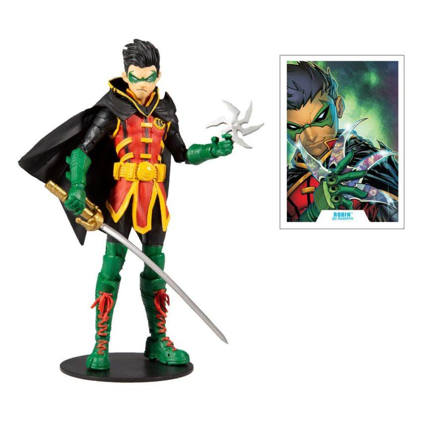 McFarlane Toys Damian Wayne As Robin