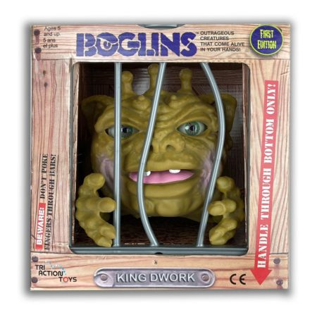 Boglins Hand Puppet King Dwork