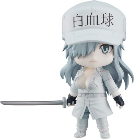Cells at Work! Code Black Nendoroid Action Figure White Blood Cell Neutrophil 1196